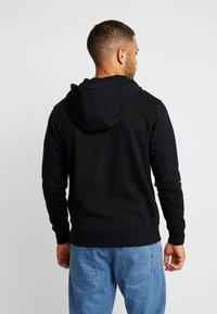 Solid - MORGAN - Zip-up hoodie - black - 2
