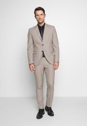 SLHSLIM SUIT - Oblek - beige