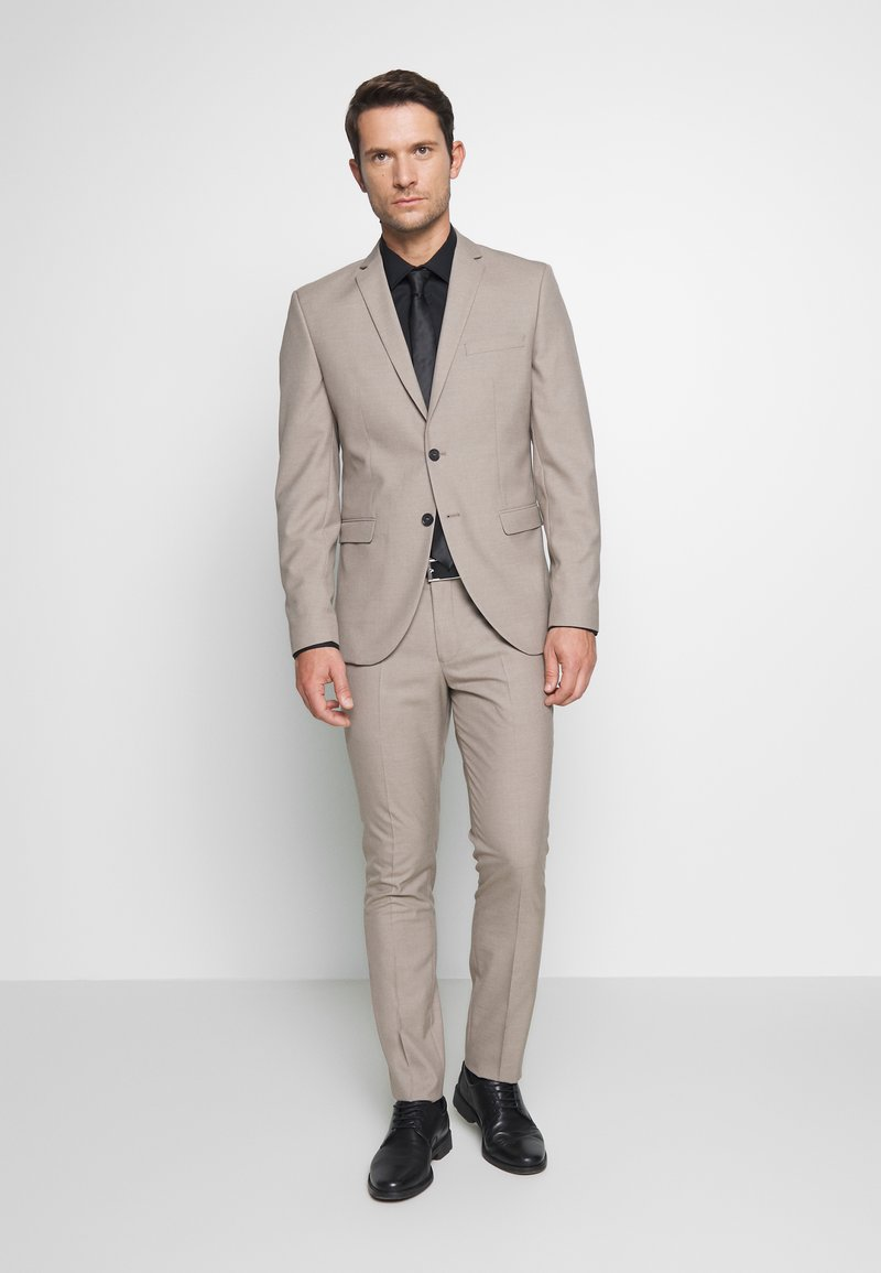Selected Homme - SLHSLIM SUIT - Kostym - beige