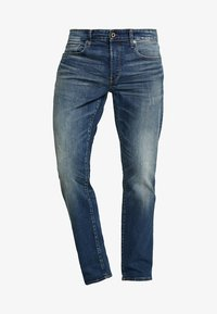 G-Star - 3301 STRAIGHT - Džíny Straight Fit - higa stretch denim - medium aged - 4