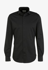 PROFUOMO - JAPANESE KNITTED - Shirt - black - 5