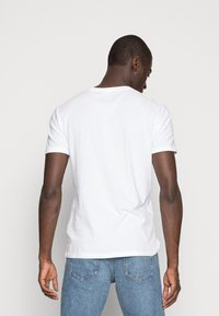 Abercrombie & Fitch - 3 PACK - T-shirt basic - blue/white/grey - 2