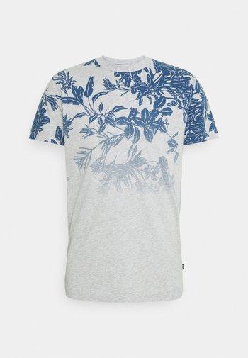 ALARON - T-shirt med print - medium blue