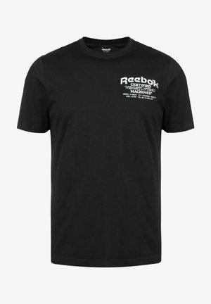 NOVELTY GRAPHIC SPEEDWICK - Camiseta estampada - black