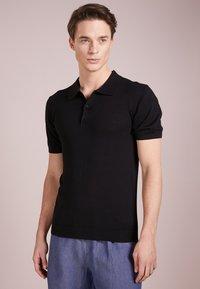Bruuns Bazaar - GERHARD - Polo shirt - black - 0
