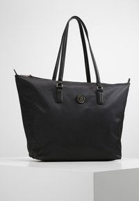 Tommy Hilfiger - POPPY TOTE - Tote bag - black - 0