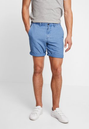 STRETCH LIVED - Shorts - dobby blue