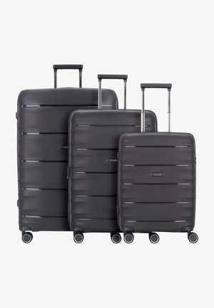 SET - Luggage set - black