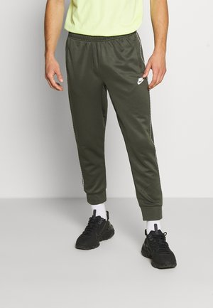 REPEAT - Tracksuit bottoms - cargo khaki
