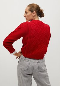 Mango - OVERALL - Jumper - rouge - 2