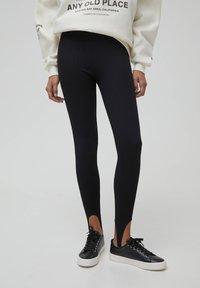 PULL&BEAR - Leggings - Trousers - black - 0