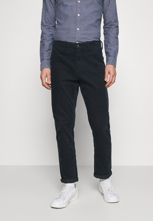 CORD TROUSERS - Broek - navy