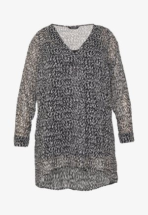 SPARKLE DETAIL TUNIC - Tunic - black/white