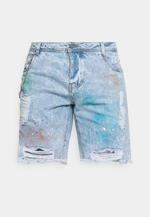 PABLOSPRAY - Jeansshorts - light blue