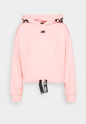 RELENTLESS CINCHED HEM HOODIE - Collegepaita - paradise pink heather