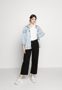Monki - Relaxed fit jeans - black dark - 1