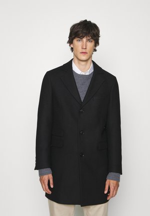 LUGO - Klassischer Mantel - schwarz