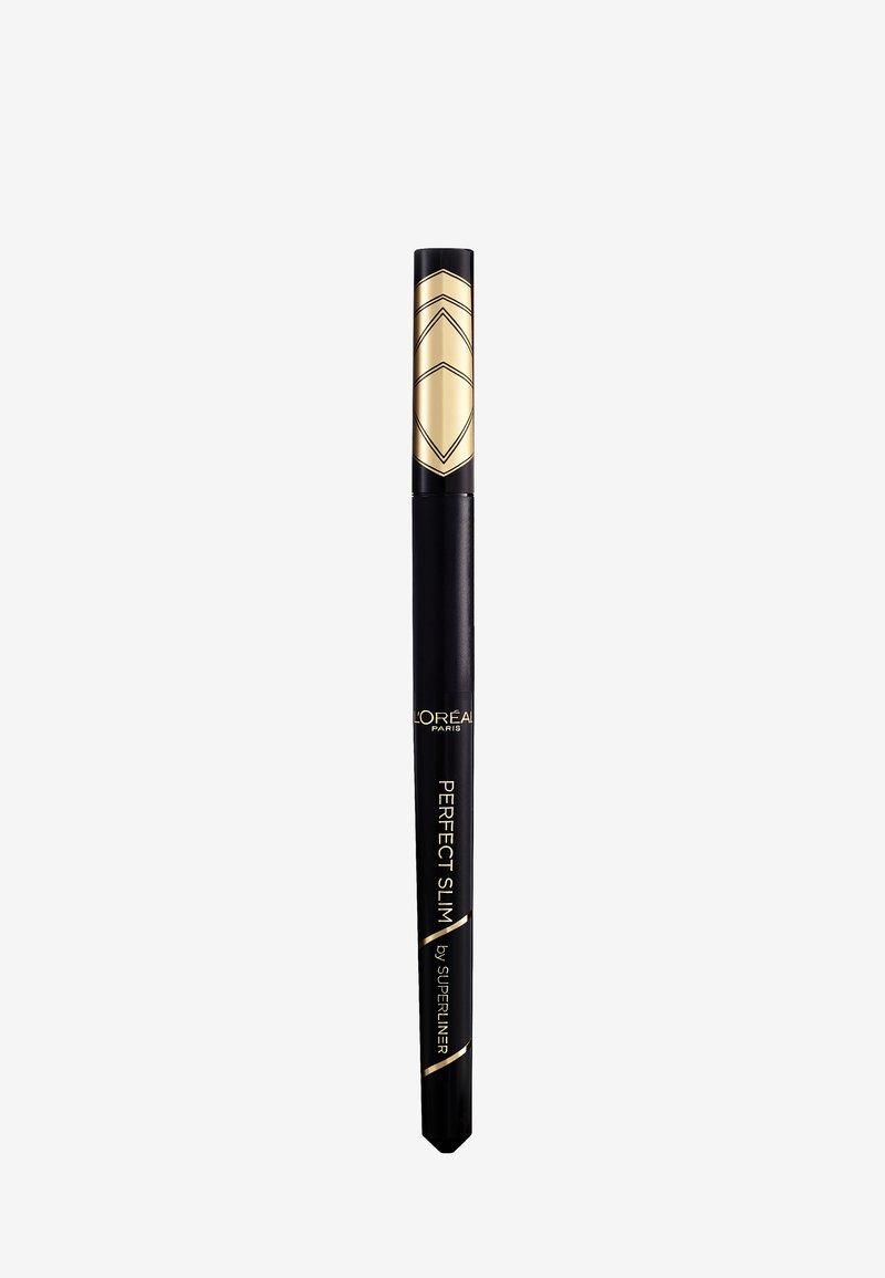 L'Oréal Paris - SUPER LINER PERFECT SLIM - Eyeliner - intense black