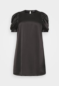 Vero Moda Curve - VMFRIDA SHORT DRESS - Day dress - black - 0