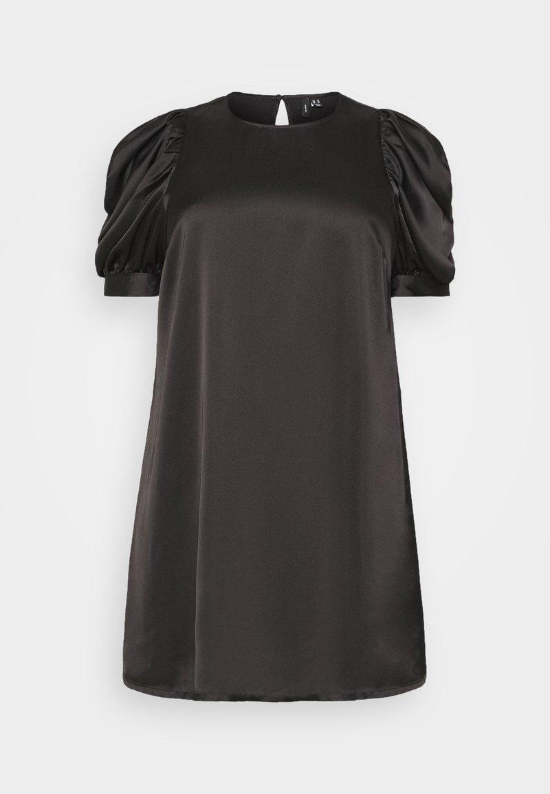Vero Moda Curve - VMFRIDA SHORT DRESS - Day dress - black