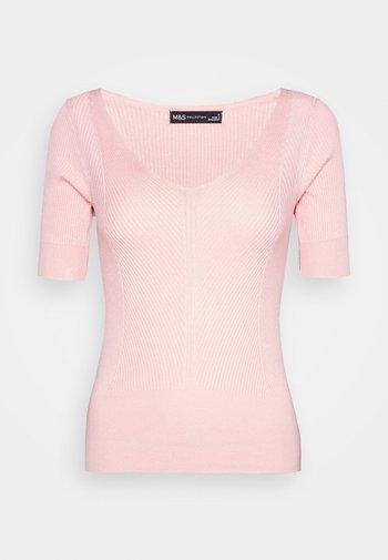 VEE - Basic T-shirt - light pink