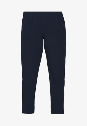 SLEEK SUIT PANTS - Trousers - real navy blue