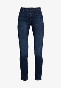 Esprit - STRAIGHT - Jeansy Slim Fit - blue dark wash - 4