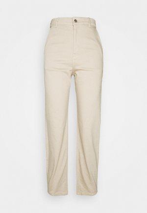 KEBBA - Jeans straight leg - humus