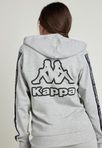 Tezenis - MIT KAPPA KAPUZE - Zip-up hoodie - grigio melange chiar - 1