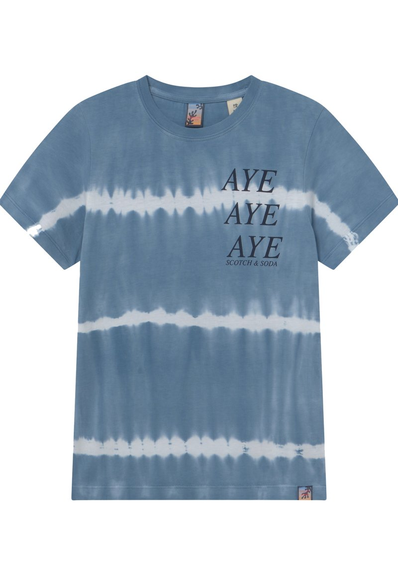 Scotch & Soda - SHORT SLEEVE - Print T-shirt - combo y
