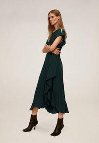 Mango - VERDENA - Day dress - smaragdgrün - 0