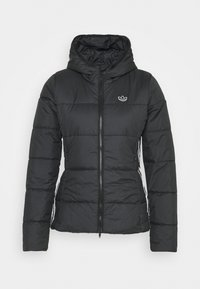 adidas Originals - SLIM JACKET - Veste mi-saison - black - 0