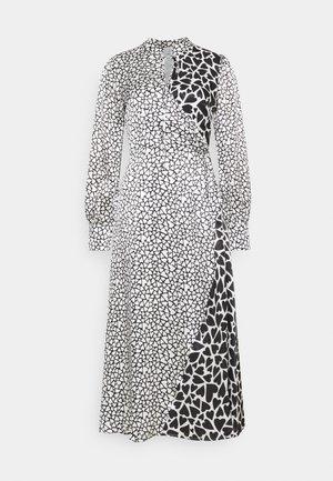 NELL DRESS - Maxi šaty - black / white