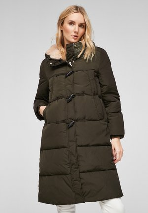 MIT KUNSTFELL - Winter coat - khaki