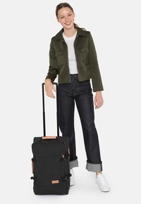 Eastpak - TRANVERZ S SUPERGRADE  - Wheeled suitcase - black - 0