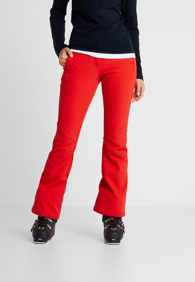 SESTRIERE NEW - Pantaloni da neve - flame red
