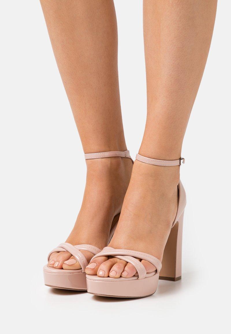 Even&Odd - Platform sandals - light pink
