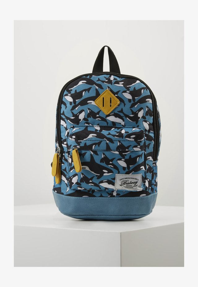 BESTWAY KINDERGARTENBACKPACK - Rucksack - dove blue/ochre