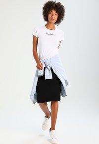 Pepe Jeans - NEW VIRGINIA - Camiseta estampada - white - 1