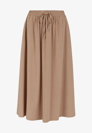A-line skirt - raw umber