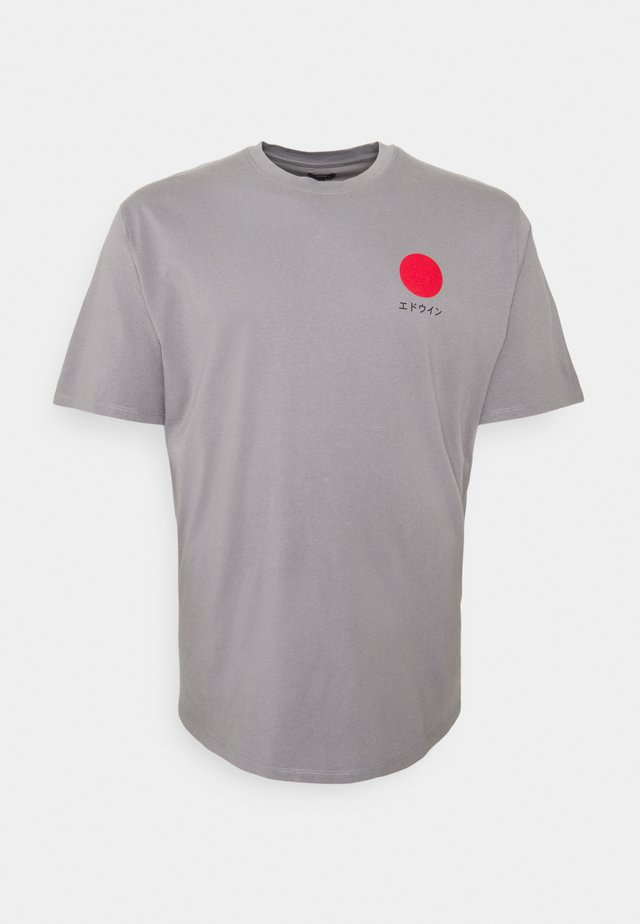 JAPANESE SUN  - T-shirt med print - frost grey