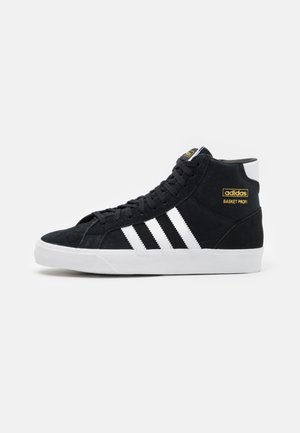 BASKET PROFI UNISEX - High-top trainers - core black/footwear white/gold metallic