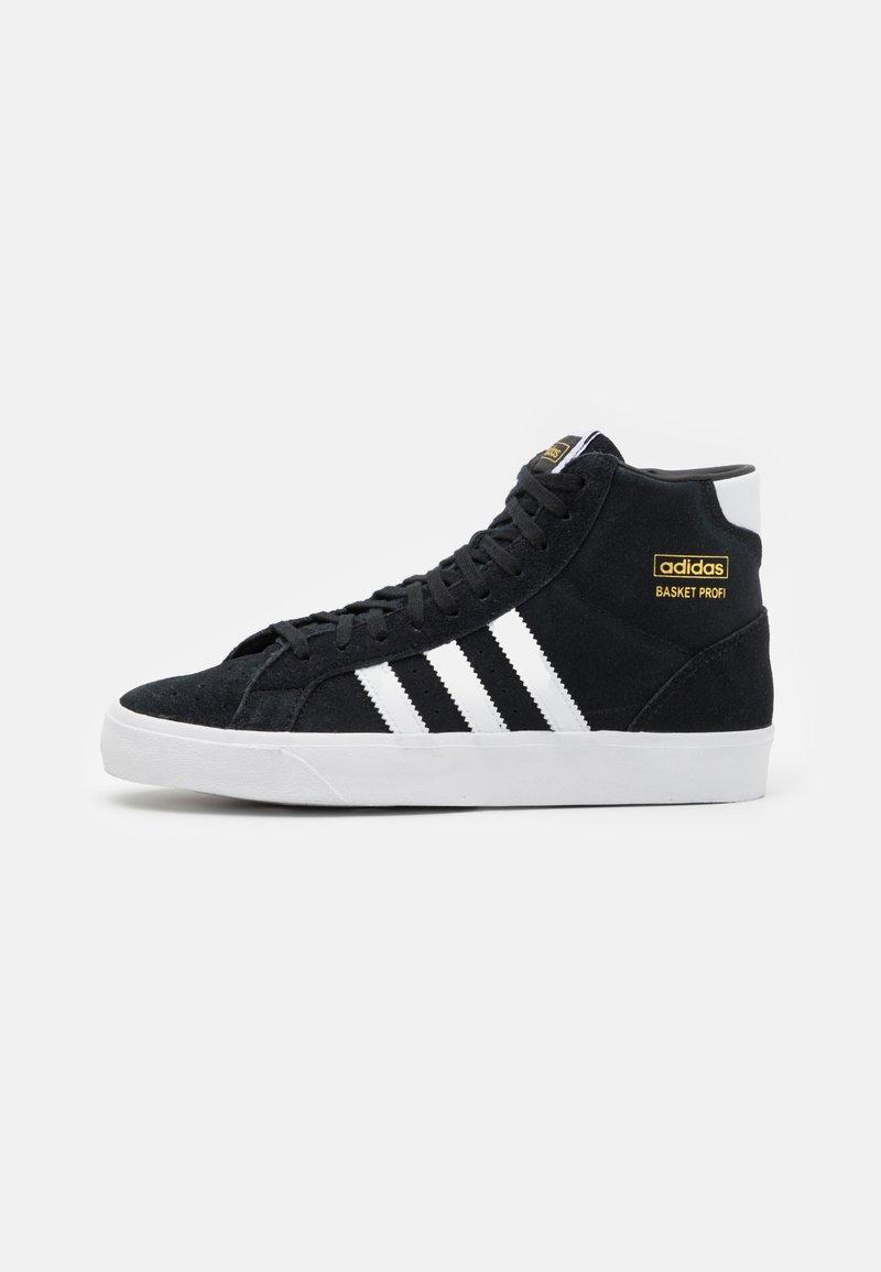 adidas Originals - BASKET PROFI UNISEX - High-top trainers - core black/footwear white/gold metallic