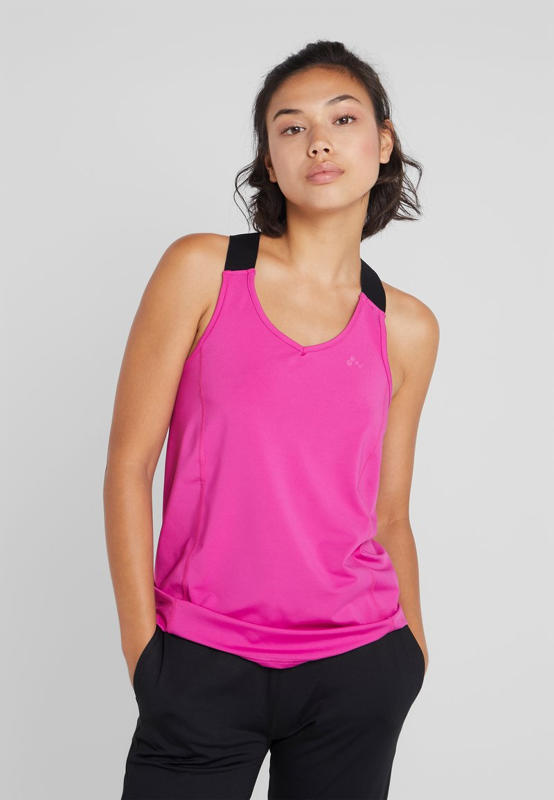ONLY Play - ONPGOLDIE TRAINING - Sportshirt - very berry