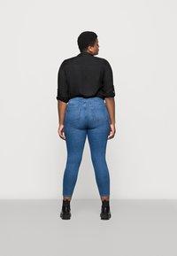 Marks & Spencer London - IVY SKINNY - Jeansy Skinny Fit - blue denim - 2