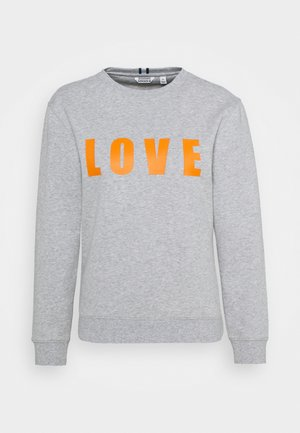 MARIA CREW - Sweatshirt - light grey melange