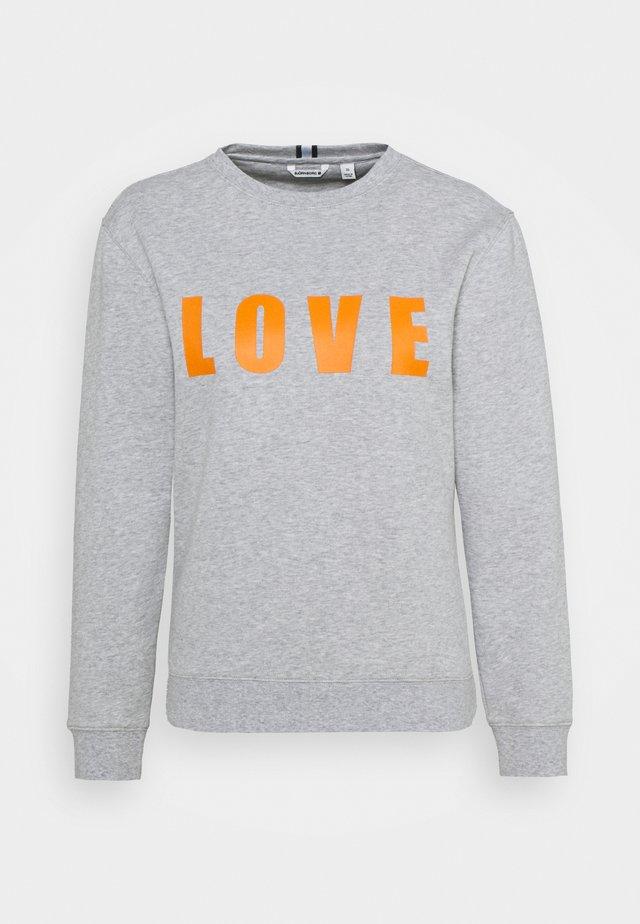MARIA CREW - Sweater - light grey melange
