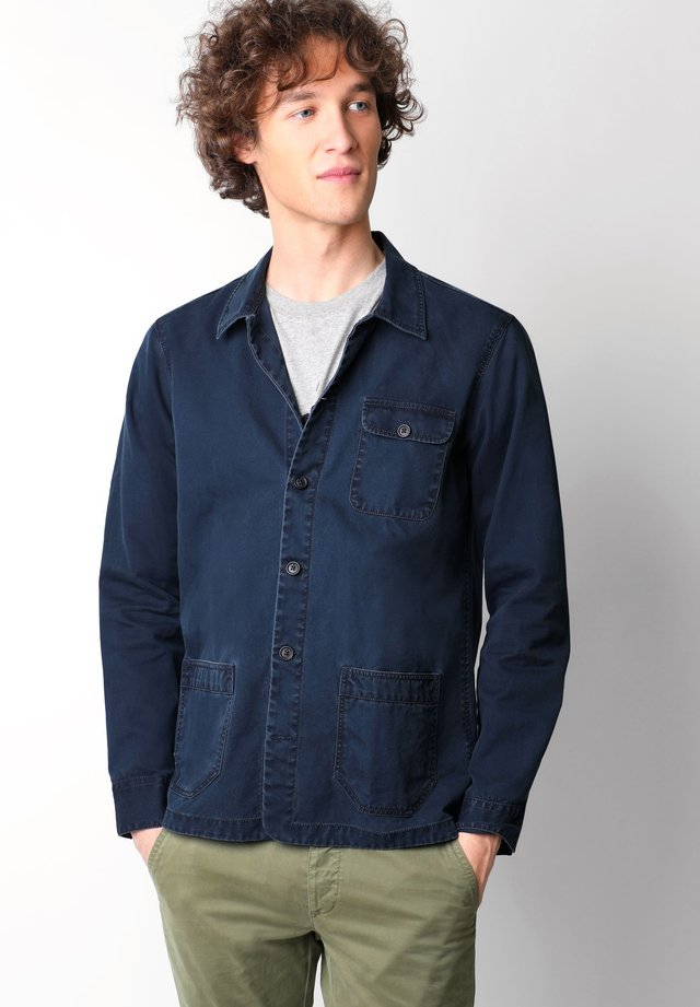 NEW WORKER - Shirt - navy