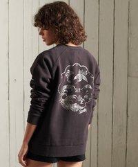 Superdry - SUPERDRY BOHEMIAN - Sweatshirt - blackbean - 1