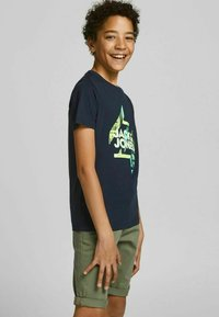 Jack & Jones Junior - Print T-shirt - navy blazer - 1